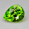 2.74 cts Green Peridot Pear Shape