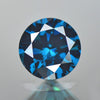 0.31 cts Blue Diamond Round Shape Fancy DIamond