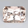 8.82 cts Peach Pink Morganite Cushion Shape