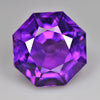 7.22 cts Purple Amethyst Round Fancy Cut Shape