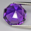 6.41 cts Purple Amethyst Round Fancy Cut Shape