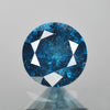 0.45 cts Blue Diamond Round Shape Natural DIamond