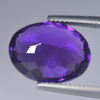 7.43 cts Purple Amethyst Oval Shape