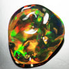 3.15 cts Multi Color Fire Opal Tumble Shape
