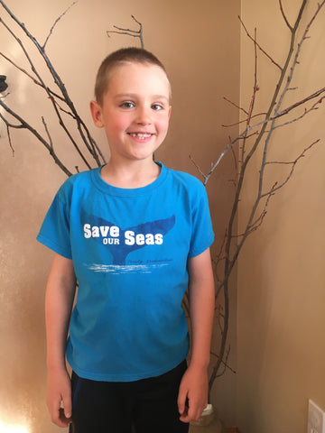 Kid's Save Our Seas T-shirt