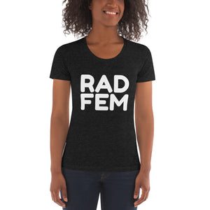 """RAD FEM"" Women's Crew Neck T-shirt"