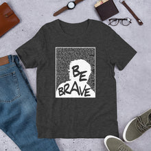Load image into Gallery viewer, Be Brave - Magdalen Berns, Radical Feminist Shirts, T-Shirts, Hoodies