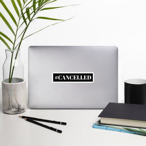 #Cancelled Feminist, Radical Feminist Sticker