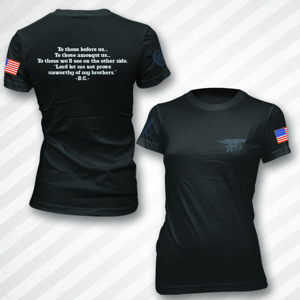 Women's Navy SEAL Brad Cavner Memorial Shirt