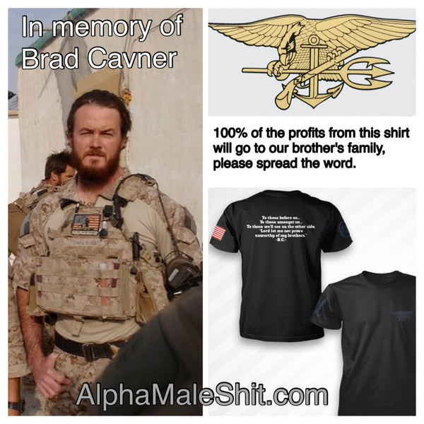 Navy SEAL Brad Cavner Memorial Tee