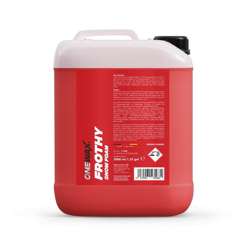 OneWax Frothy Snow Foam - Ruggieri Group