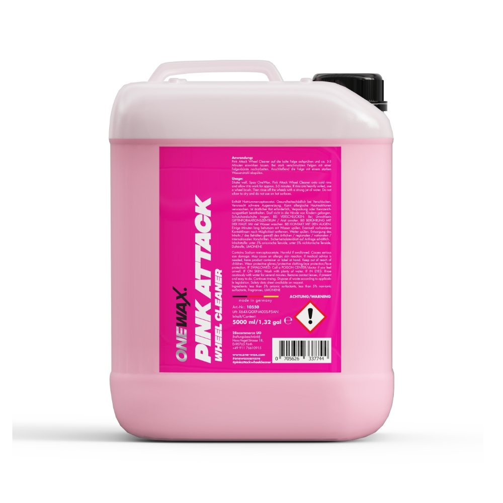 OneWax Pink Attack Wheel Cleaner - Ruggieri Group