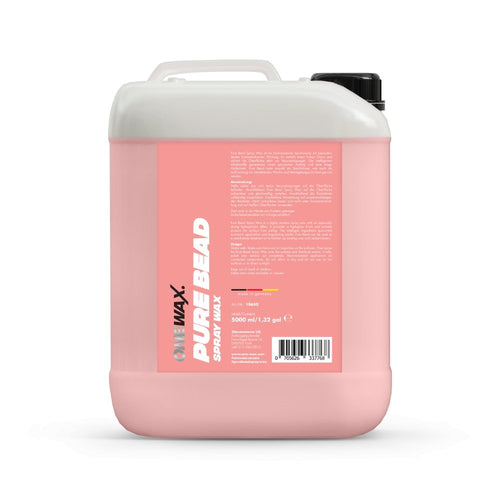OneWax Pure Bead Spray Wax - Ruggieri Group