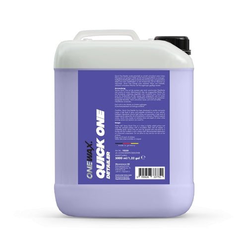 OneWax Quick One Detailer - Ruggieri Group