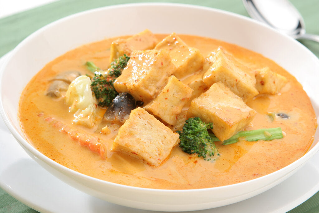 Tofu Curry: Hot and Ready in 30 Minutes