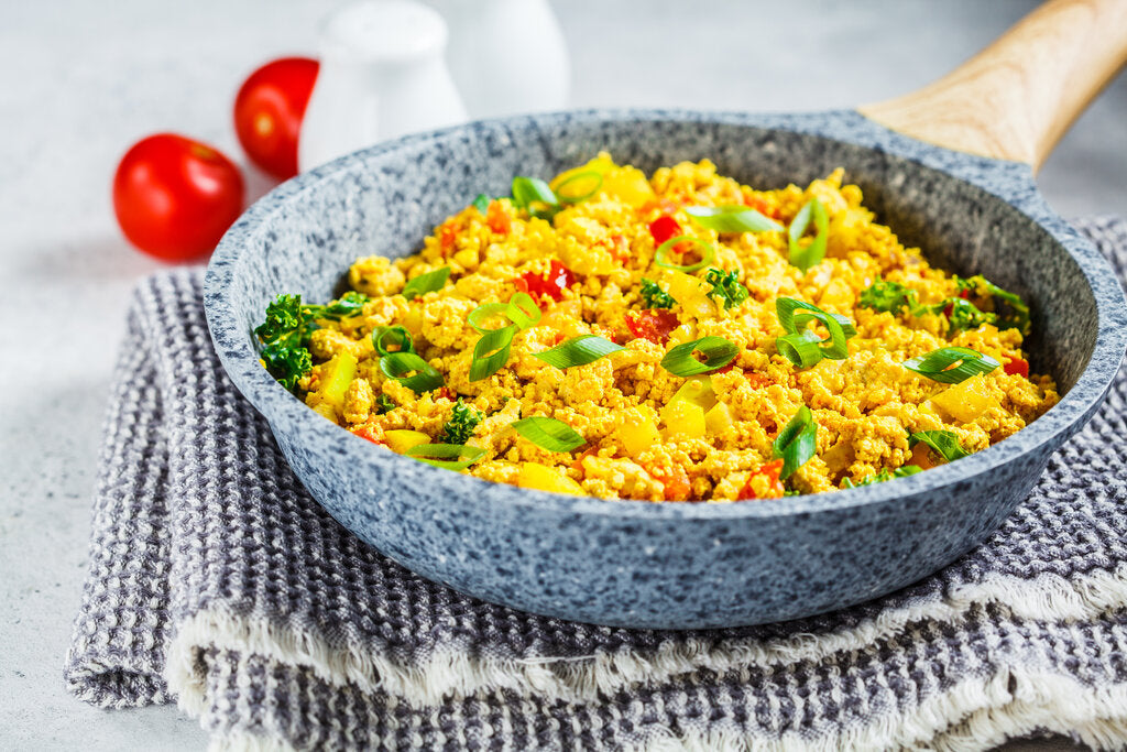 Tofu Sausage Scramble: The Perfect Addition to Your Vegan Holiday Menu