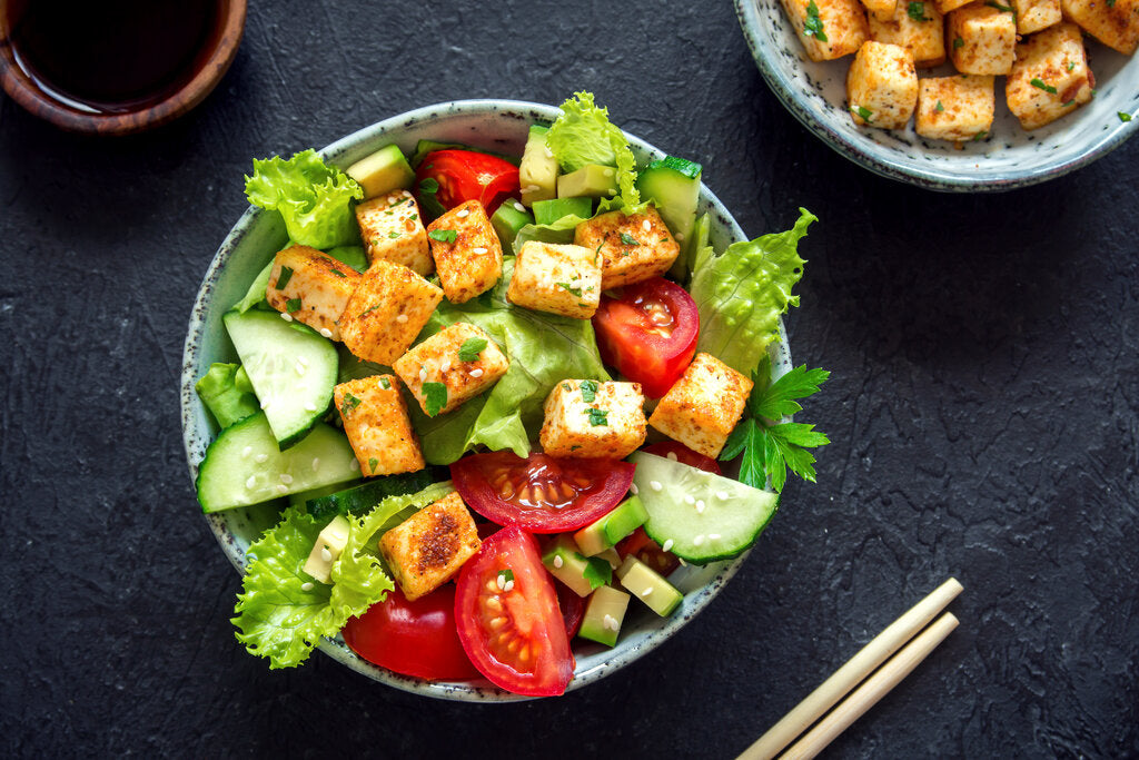 Tofu Salad: Spicy Asian Salad