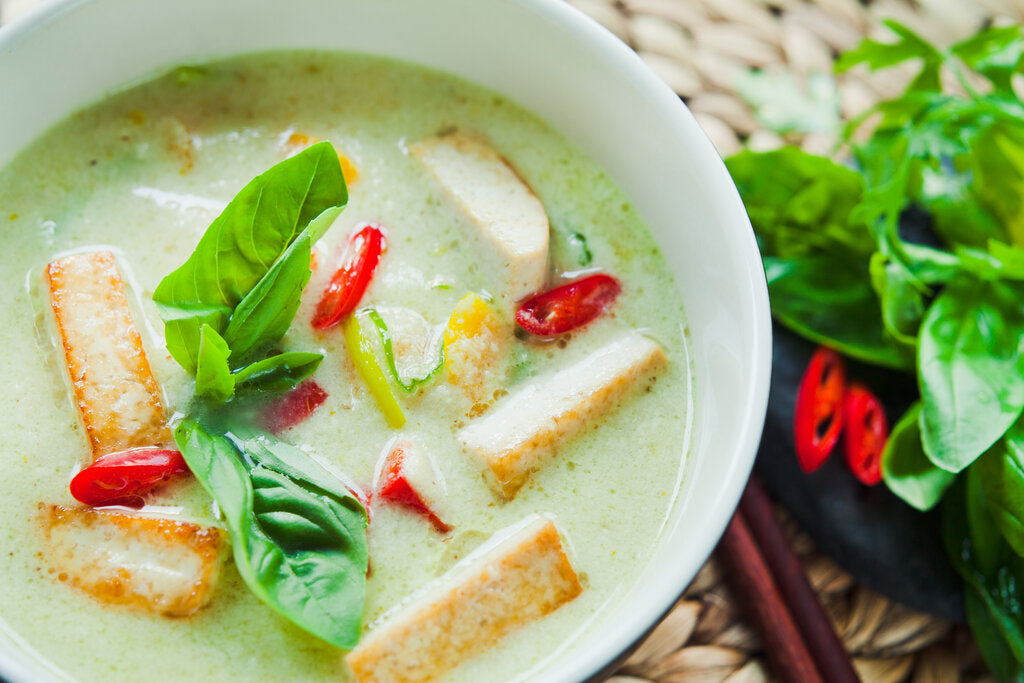 Tofu Green Curry: Veggie Thai Green Curry Recipe