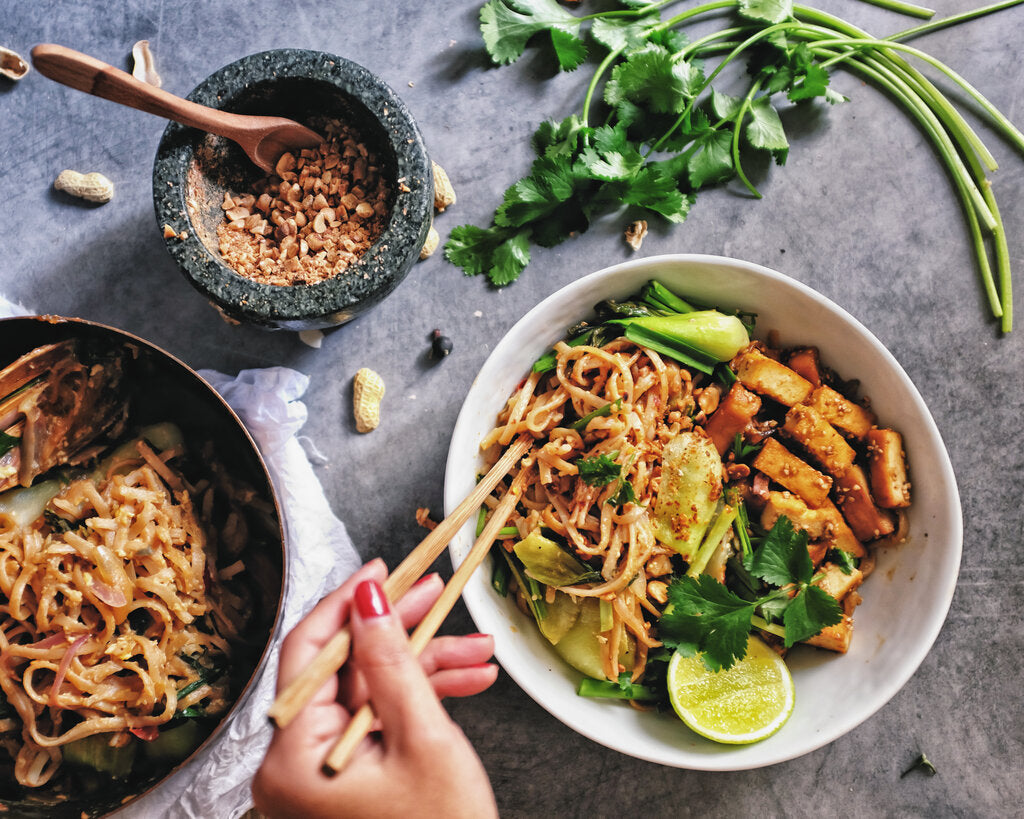 Vegan Pad Thai: From Fridge to Table in 30 Minutes