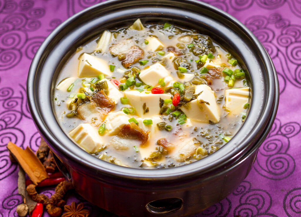 Tofu Soup: A Hot, Spicy, and Sour Soup Recipe You Can Make At Home!