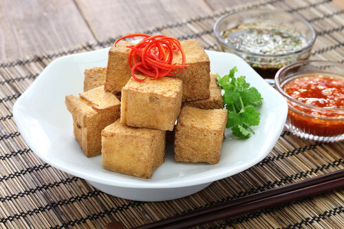 Coconut Crusted Tofu