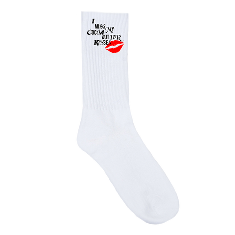 """COCOA BUTTER KISSES"" SOCKS"