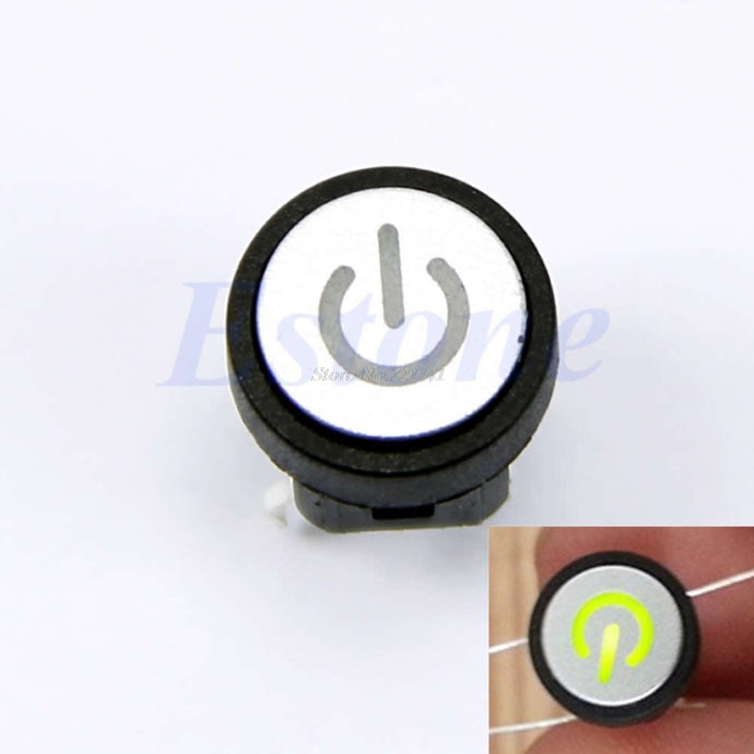 Power Symbol Led Light Push Button