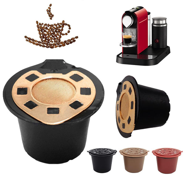 New Reusable Stainless Steel Refillable Coffee Pods for Nespresso Machines.