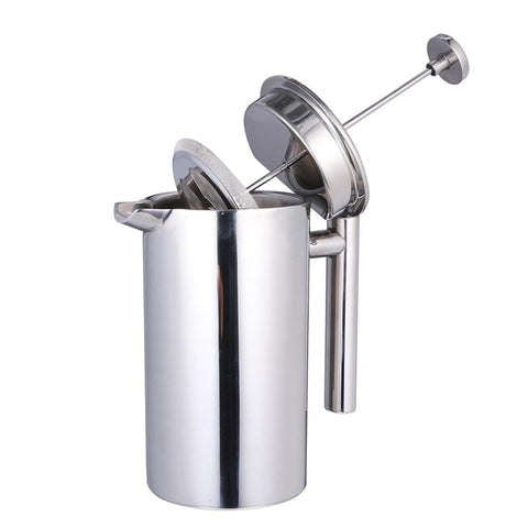 350ml Insulated stainless steel french press.