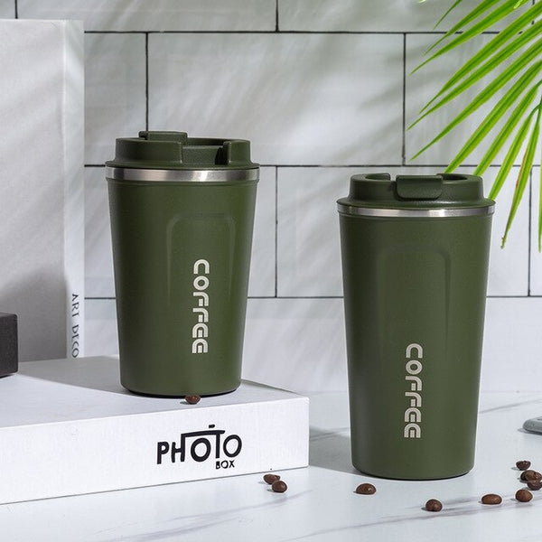 2020 New 380/510ML Portable Stainless steel Travel Coffee Mugs.