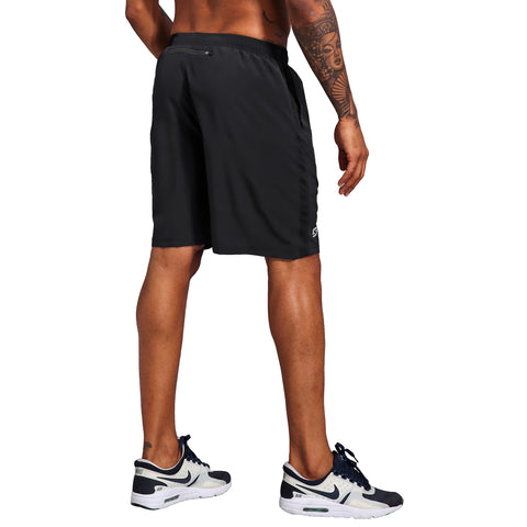 Men's 7 Inch Workout Running Shorts - Quick Dry Lightweight Athletic Gym Training Shorts with Zip Pockets