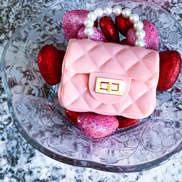Lil Miss Thing Pastel Pink Purse