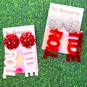 Scout Celebration Tailgate Roll Tide Earrings