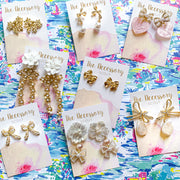 Ayla Bow Earrings