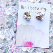 Darling Flower Studs