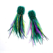 Come & Get Your Love Feather Earrings