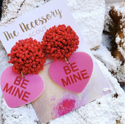 Scout Celebration Conversation Heart Earrings