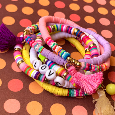 KIDS Mini Love Tassel Stack