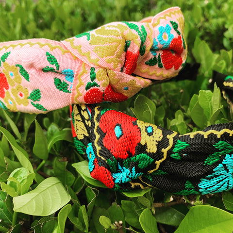 Flora Embroidered Headbands