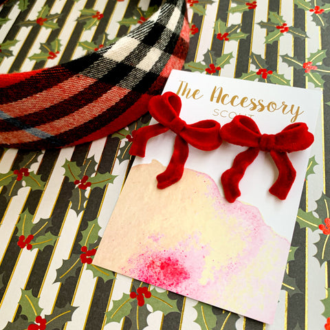 Red Kate Plaid Headband