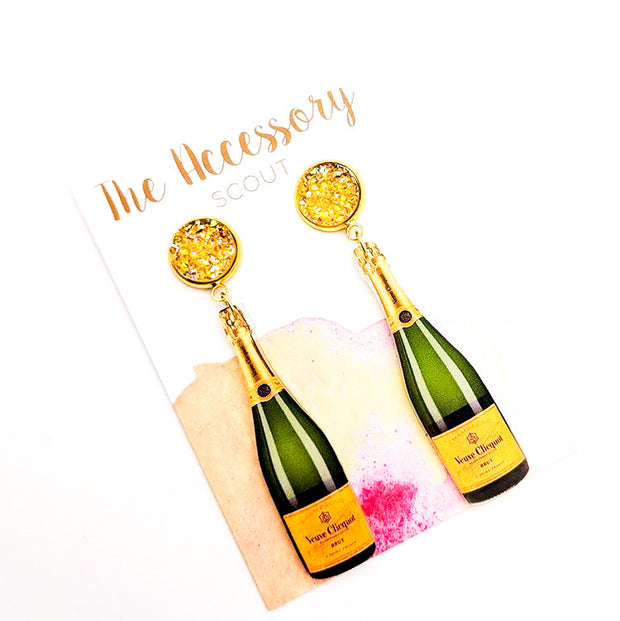 Scout Celebration Veuve Champagne Bottles