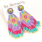 Fringe Benefit Earrings
