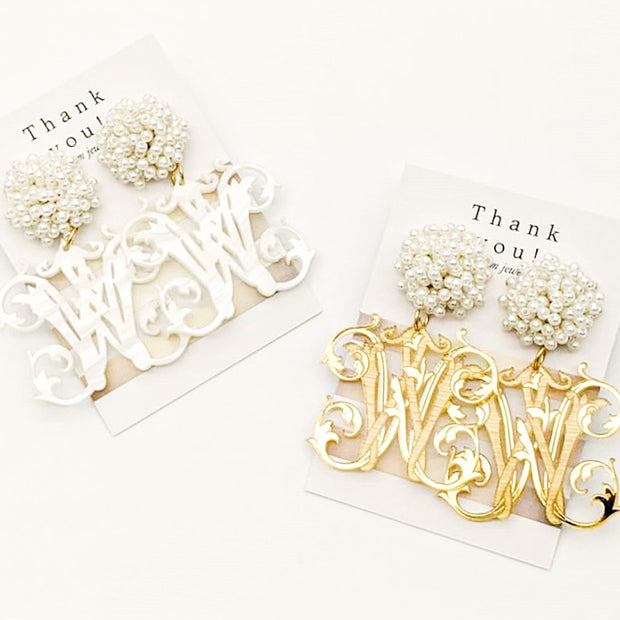 Scout Celebration Initial Earrings