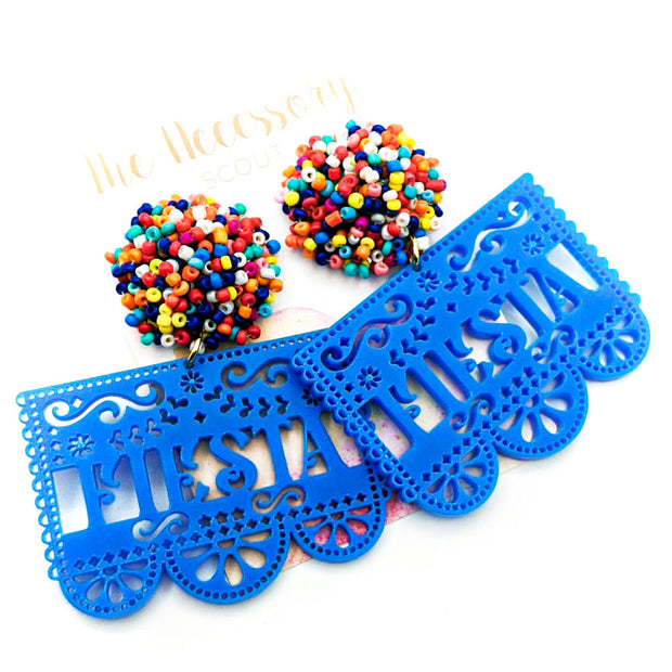 Scout Celebration Fiesta Banner Earrings