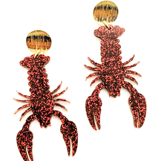 Scout Celebration Getcha Some Crawfish Earrings