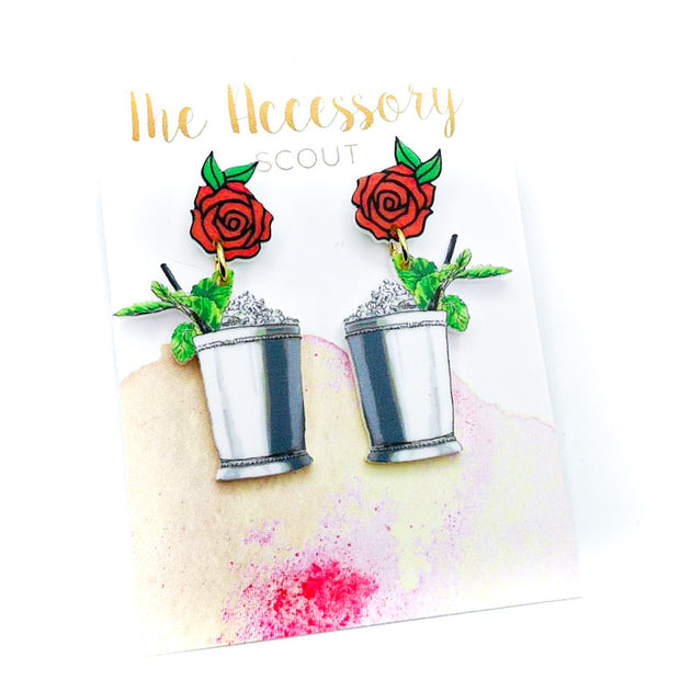 Scout Celebration Red Mint Julep Earrings