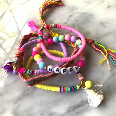 KIDS Mini Happy Tassel Stack
