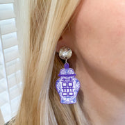 Scout Celebration Ginger Jar Earrings - Medium