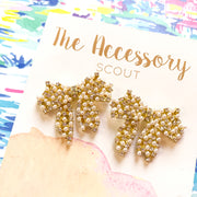 Edith Bow Earrings