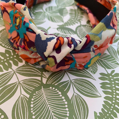 Penelope Floral Knot Headband